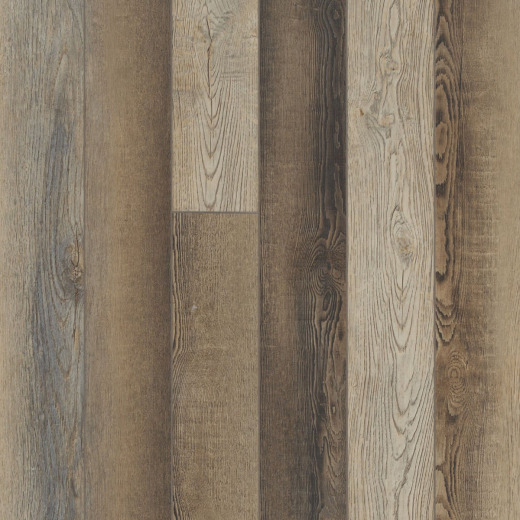 Floorte Pro Paragon Plus 5 In. x 48 In. Brush Oak Vinyl Floor Plank (15 Sq. Ft./Case)