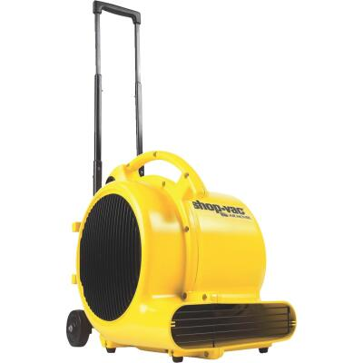 Shop Vac 3-Speed 2-Position 1600 CFM Air Mover Blower Fan