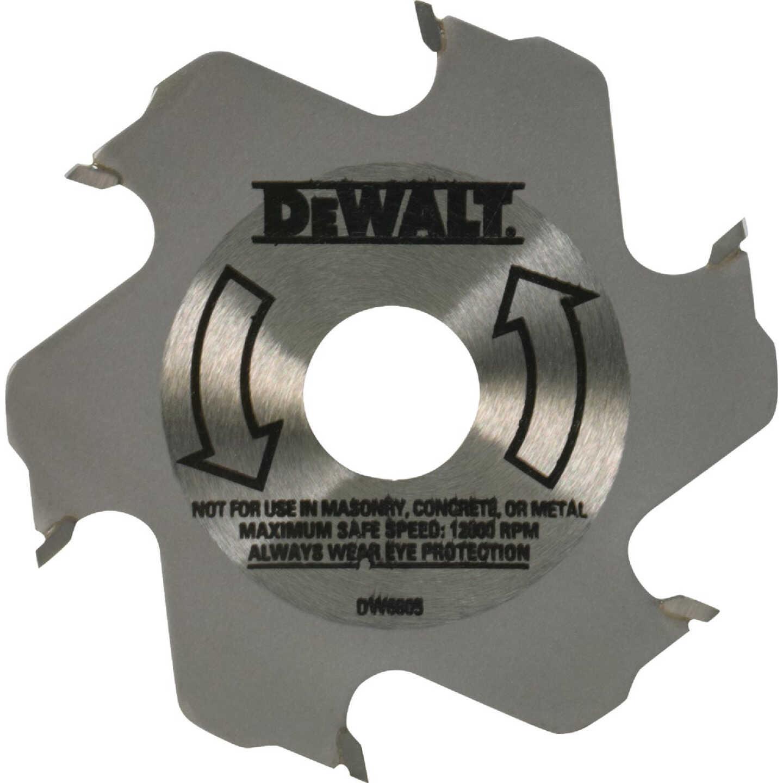 DeWalt 4 In. 6-Tooth Carbide Plate Joiner Blade Image 1