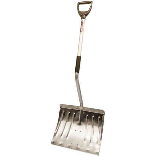 Rugg Back-Saver Lite-Wate 18 In. Aluminum Snow Shovel with 37 In. Aluminum Handle
