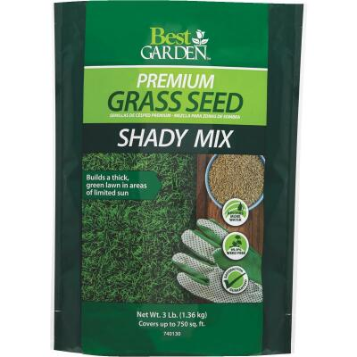 Best Garden 3 Lb. 900 Sq. Ft. Coverage Shady Grass Seed